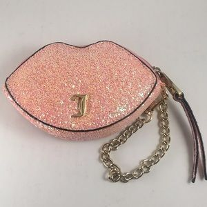 Juicy Couture Glitter Lips Coin Purse